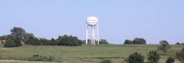 Watertower from the West