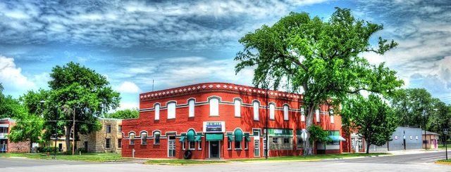 Iola's old downtown buildings