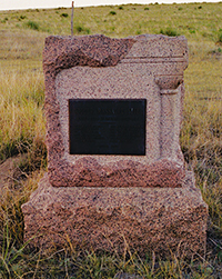 Kidder Massacre stone monument