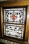 Ruth and Selby Soward stained glass window