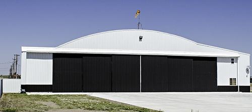 Renner Field hangar today